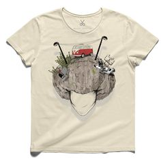 #soil city #beige #tee #tshirt #virgil #head #trailer #streetlamp #poor #drawing