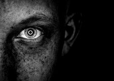 Fear of darkness! | Flickr: Intercambio de fotos #photography #white #black #and