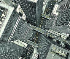 The Fox Is Black #perspective #skyscraper #aerial