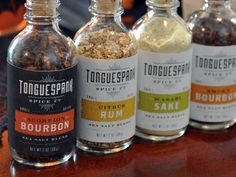 A3a4793c43a8aac349cfdb29a384564f_large #packaging #spices #design #graphic #bottles #typography