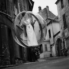The Bubble series by Melvin Sokolsky | The Aubergine Notebook #fashion #photography