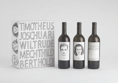 Jung von Matt | Ideas #packaging #type #illustration #wine