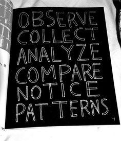 DeadFix » Paterns #poster #observe