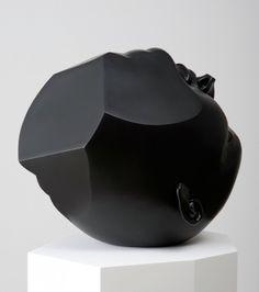 Tanya Batura « PICDIT #art #sculpture #black #head