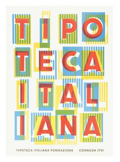 Ian Gabb #print #colour #poster #typography
