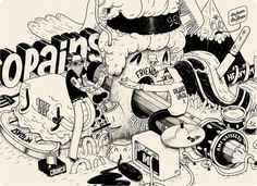 Illustrations by Mcbess | Best Bookmarks
