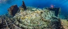 Wreck of the Chrisoula K by Tobias Friedrich