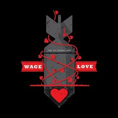 Matt Stevens #army #wage #salvation #stevens #matt #shirt #illustration #logo #love