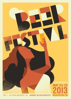 Beer festival 2013 #beer #illustration #poster
