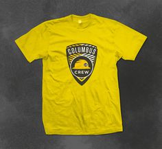 Columbus Crew - shirt idea #clothing #ohio #columbus #mls #shirts #crew