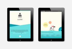 Mr. Winter #ipad #responsive #mrwinter #website #illustration #identity #logo #winter