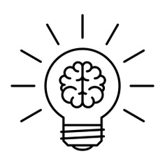 See more icon inspiration related to smart, brain, idea, bulb, light, bright, science and miscellaneous on Flaticon.