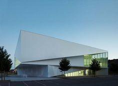 Médiathèque d'Anzin by Dominique Coulon Architecte (FR) @ Dailytonic