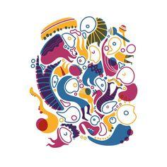 Obnoxious REINA CASTELLANOS #illustration #colors