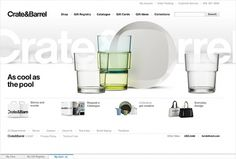 Sam Dallyn - Crate and Barrel - Ecommerce website #website