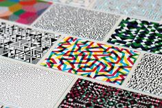 Business Cards #print #pattern