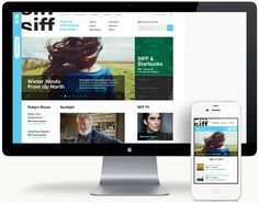 SIFF Kyle Gabouer Design #website #film festival