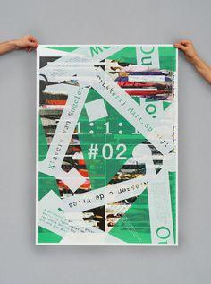 Richard Niessen & Esther de Vries (Amsterdam, The Netherlands) #type #collage #poster