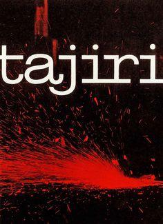 Tajiri, a catalog cover designed by Wim Crouwel, 1959, De Jong & Company Lithographers. #monochrome #crouwel #poster #wim #dutch #typography