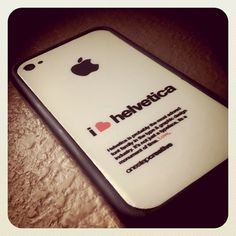 Instagram #4 #iphone #helvetica #decal #typography