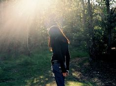 Buamai - All sizes | Untitled | #girl #forrest #photography #sunlight #morning