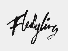 Fledgling Logotype #lettering