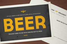 Premium Draught Design Sample #branding