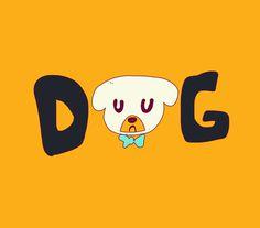 Dog.jpg #typography #illustration #kids #children #animal #dog