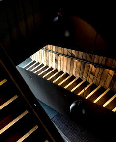 Unique and Trendy Guest House Pumphouse Point - #stairs, #staircase, #stairway, #architecture