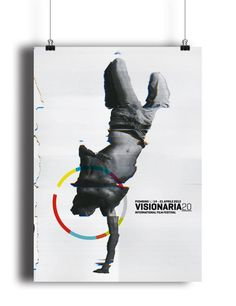 Visionaria20. International Film Festival by Mimmo Manes, via #Behance #canefantasma #visionaria