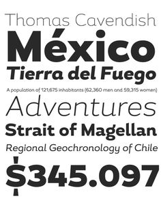 Magallanes on Typography Served #font #serif #design #sans #type