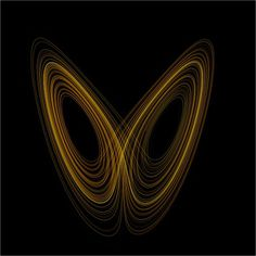 File:Lorenz attractor yb.svg - Wikipedia, the free encyclopedia #theory #lorenz #visualisation #attractor #chaos