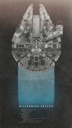 Christopher Paul: The Print Shop #print #wars #black #falcon #star #poster #millennium #blue