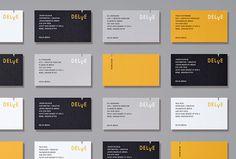 Delve by Moniker #branding #business card