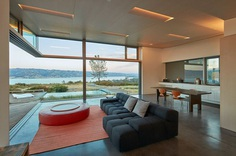 Hexagonal House that Offers Views from All Six Sides Goto House 6