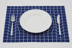 17st #form #placemat #tableware #grid #einstein