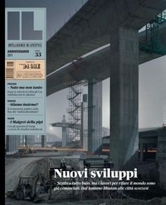 new IL from Italy - Coverjunkie.com #magazine #in #lifestyle #cover #editorial #masthead #intelligence