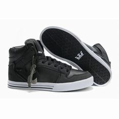 supra vaider charcoal shoes men size high top skate shoes