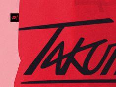 Takumoto Bag #tote #gibson #nico #dj #identity #logo #takumoto #mr