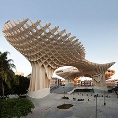 Dezeen » Blog Archive » Metropol Parasol by J. Mayer H. #spain #plazza #seville #wood #architecture #latticed