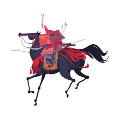 Storybook Concepts on Behance #orin #japanese #character #haskins