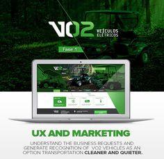 VO2 Site #web #ia #ux