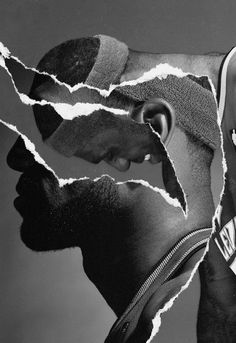 Tim + TimLeBron James, Nike BasketballCollage, 2010, with and for Hort(2)