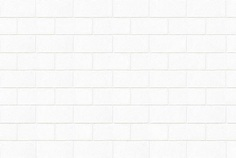 White concrete brick wall texture
