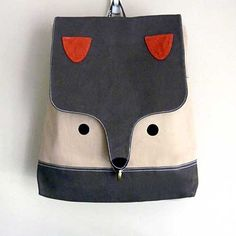 An epically awesome backpack for back to school. #backpack #fashion #children #animal #kids