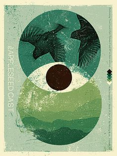 GigPosters.com - Appleseed Cast - Dreamend #gig #poster