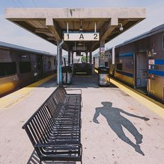 Train, Flying, Ghost, Silhouette, Shadow, Empty