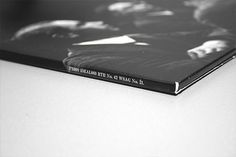 Lost In Reflections on Behance #packaging #vinyl #white #black