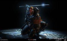 Deathstroke (Samurai) #samurai #deathstroke