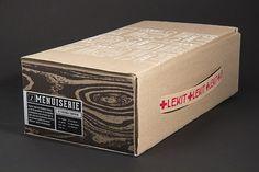 Le KIT #branding #packaging #box #wood #tool #carpentry #kit #carpenter